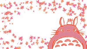 Pink Kawaii Totoro Backgrounds