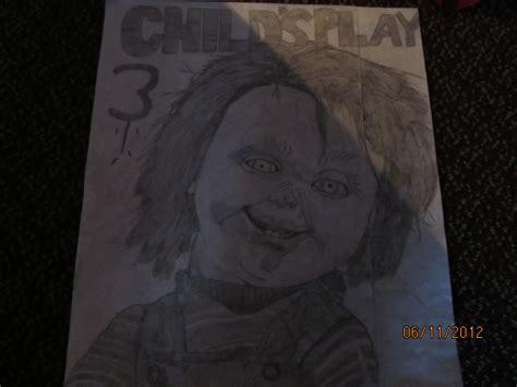 chucky drawing drawing photo  fanpop