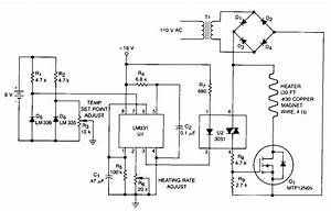 Simple Proportional-temperature-controller Circuit Diagram