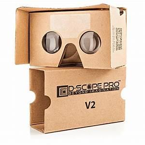 Cardboard Qr Code : google cardboard v2 with straps by d scope pro virtual reality import it all ~ Eleganceandgraceweddings.com Haus und Dekorationen