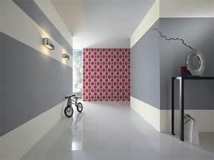 couleur peinture papier peint new beats de rasch dans le With idee couleur couloir entree 5 decoration couloir 25 idees geniales 224 decouvrir