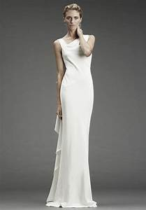 Satin simple wedding dresses with attractive back designs for Simple satin wedding dresses