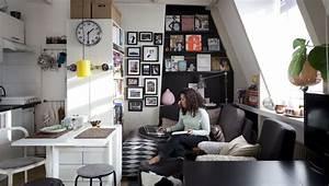 Un joli studio organisé pour vivre et travailler DecoCrush