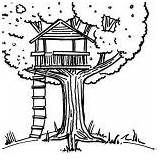 Coloring Tree Treehouse Pages Drawing Amazing Colouring Drawings Printable Beach Getcoloringpages Bestcoloringpagesforkids sketch template