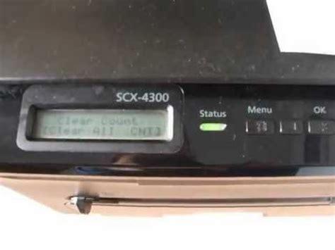 فقط أتبع خطواط التثبيت التى سوف تظهر أمامك على الشاشة وأجراء الأوامر والتعديلات المناسبة. تصفير عداد طابعة سامسونج Reset Samsung SCX-4300 - تحميل برنامج تعريفات عربي لويندوز مجانا