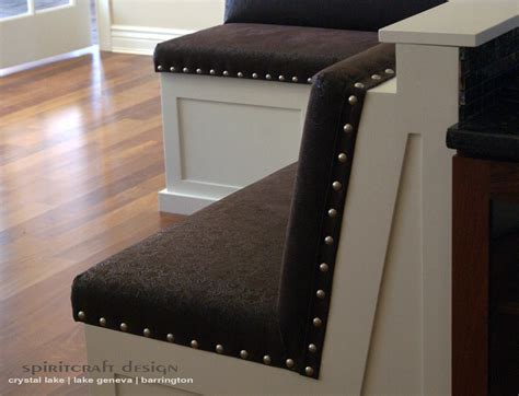 How To Build A Padded Bench by Upholstery For Chairs Cushions Banquettes In Illinois