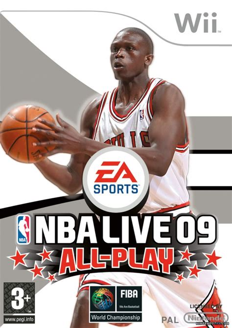 Gamis Ff09 09 nba live 09 all play review wii nintendo