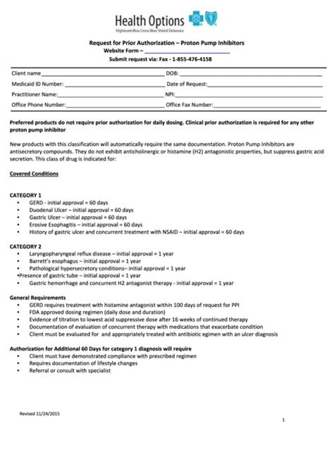 standard authorization form bcbs highmark bcbs prior authorization form doki okimarket co