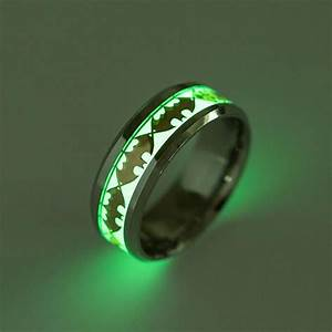 batman luminous glow in the dark ring comicstoy With batman mens wedding ring