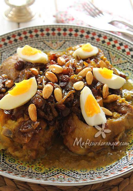 recette de cuisine marocaine en tajine de viande à la tfaya et résultats du giveaway