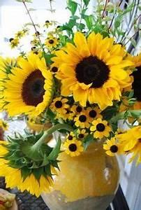 Les 25 Meilleures Ides Concernant Bouquets De Tournesol
