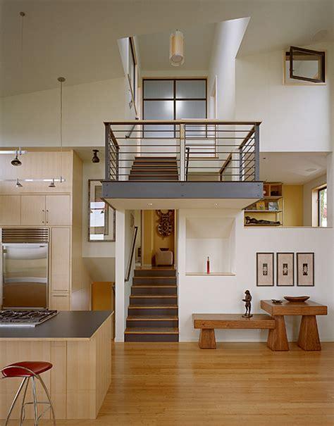 modern remodel   post war split level house    level house digsdigs