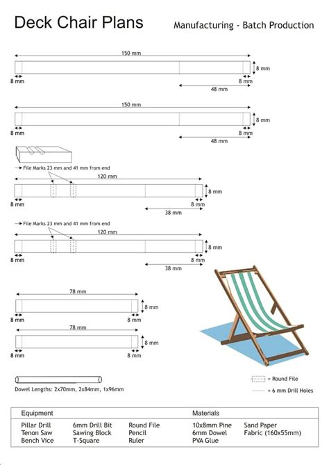 Deck Chair Dimensions  Woodworking Projects & Plans