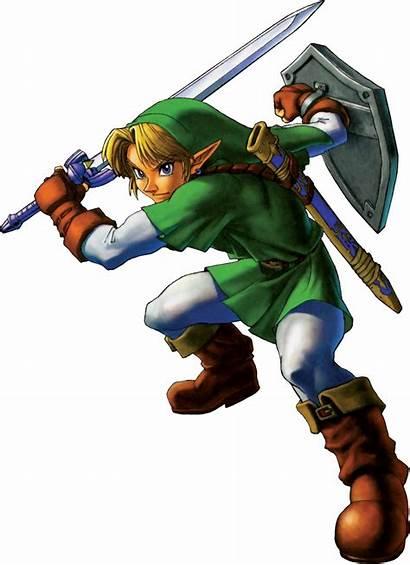 Ocarina Link Zelda Legend Version