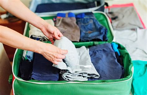 how to make your clothes smell in your suitcase