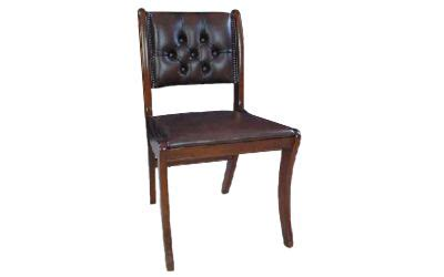 button back leather chair sofas