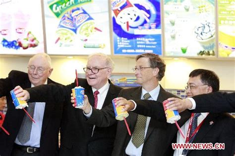 Buffett and Gates visit Dairy Queen store in Beijing ...