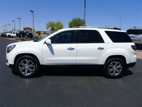 purchase used 2014 gmc acadia slt awd captains chairs used