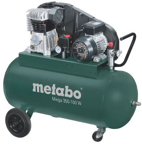 kompressor 10 bar metabo kompressor mega 350 100 w 230v 90 liter 10 bar