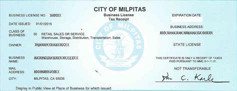 preschool license california business license center city of milpitas 260