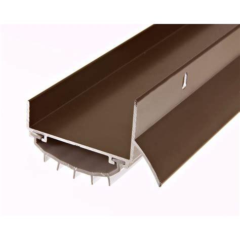 king door sweep king e o 1 3 4 in x 36 in brown u shape door