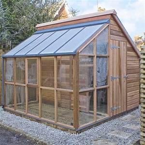 Serre De Jardin Polycarbonate : serre de jardin adossee maison design ~ Dailycaller-alerts.com Idées de Décoration