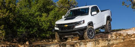 2018 Chevrolet Colorado Zr2 Towing And Hauling Features