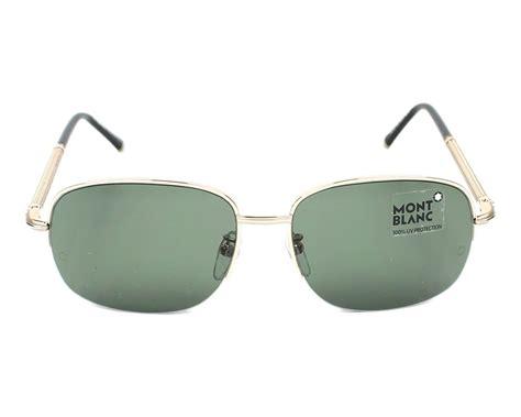 lunettes de soleil mont blanc mb523t 28r 58 visionet