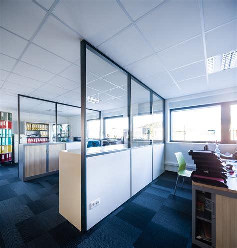 cloison phonique bureau cloison amovible vitrée de bureau open space isolation phonique nancy 54 clozal
