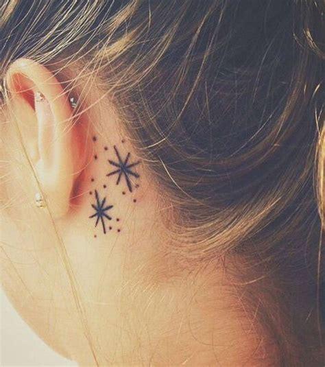 Tatouage Derrière L'oreille Flocon  20 Idées De Tatouages