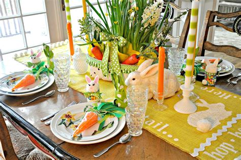 serendipity refined easter table setting