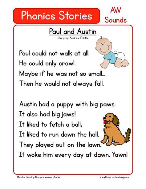 reading comprehension worksheet paul  austin