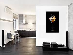 Tableau En Verre Leroy Merlin : tableau mural verre de cocktail d coration cuisine hexoa ~ Dailycaller-alerts.com Idées de Décoration