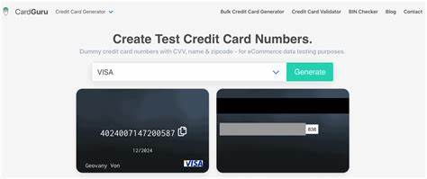 Criminals use the numbers generated by the real credit card generator to make fake credit cards. Top 10 Credit Card Generators in 2020 - Daily Money Saving