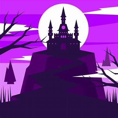 Vector Wizard Castle Illustration Hogwarts Drawing Vecteezy