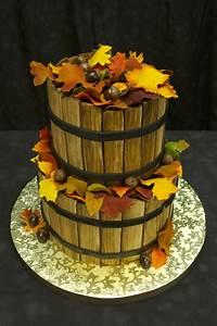 Autumn Basket Cake - CakeCentral.com  Cake