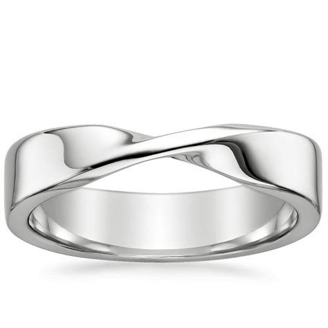 Twisted Wedding Ring  Mobius  Brilliant Earth