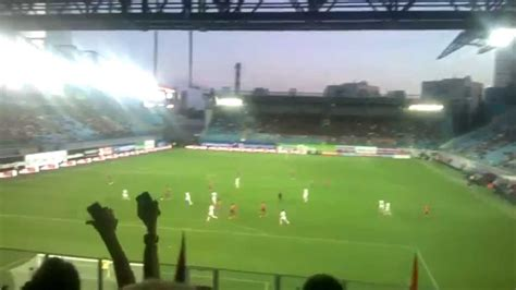 Фанаты ЦСКА на матче с Тереком Youtube