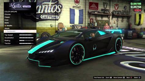 Gta 5 (zentorno)fully Custom Car /first Video
