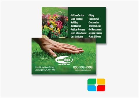landscaping business cards landscape business cards