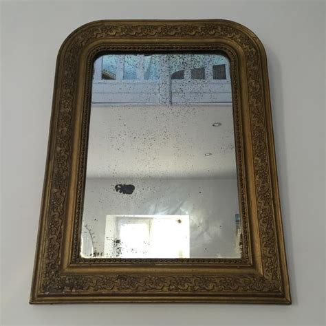 antique french shabby chic louis philippe mirror miroir