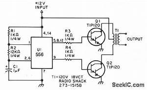low power inverter basic circuit circuit diagram With low power circuit