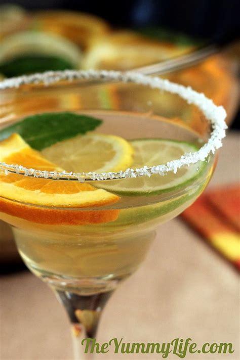 Sparkling Margarita Sangria Party Cocktails