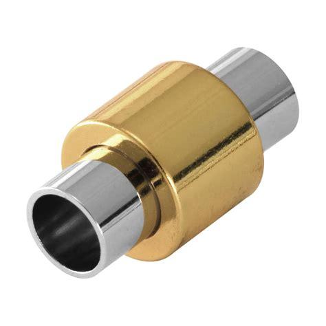 loch in metall schließen magnetverschluss 20x11mm loch 216 6mm metall silber goldfarben g 252 nstig bastelbedarf