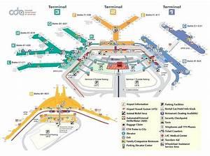 Ohare Terminal 1 Map