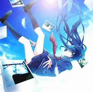 Monochrome Blue Sky - VOCALOID - Image #660698 - Zerochan ...