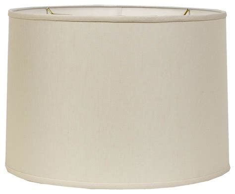 linen drum l shade 16 quot belgian linen drum shade beige or cream l shades