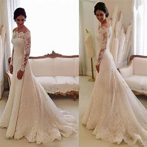 white lace long sleeve wedding dress wedding dress gallery With long sleeve white lace wedding dress