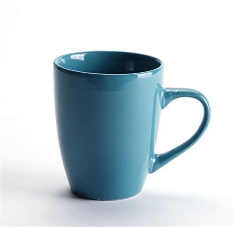 LEANDALE Aaron Bistro Ceramic Coffee Tea Mug Cup Set 12 OZ