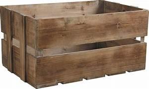 Caisse Bois Rangement : caisse en bois vieilli lot de 3 ~ Teatrodelosmanantiales.com Idées de Décoration